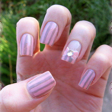 Spring awaking contest nail art nail art by Ninthea