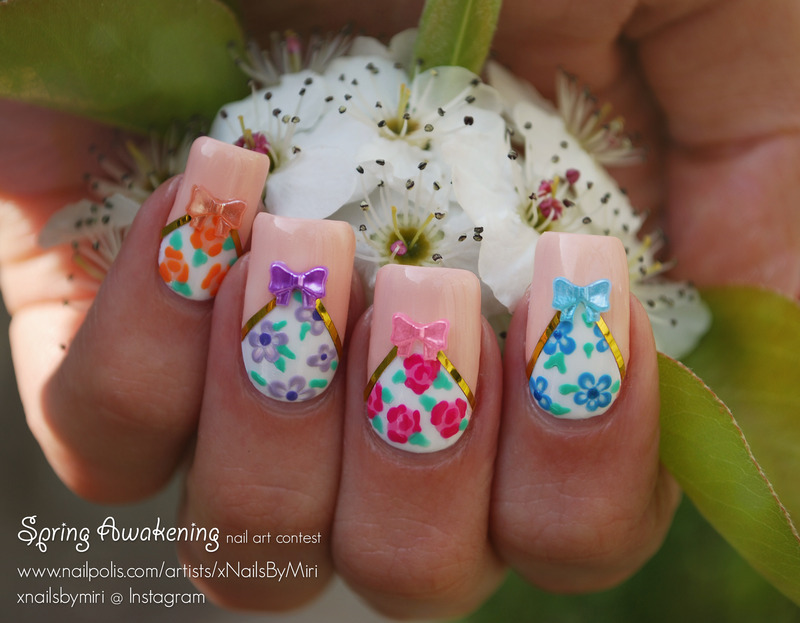 Time for Spring! nail art by xNailsByMiri
