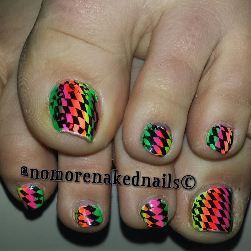 summer nail art by nomorenakednails