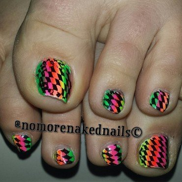 summer nail art by nomorenakednails