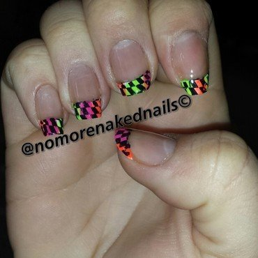 French tips nail art by nomorenakednails