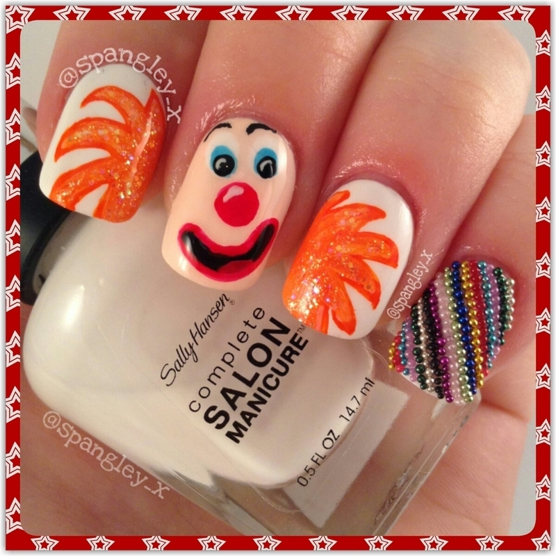 Happy Friday!  nail art by Nicole Louise
