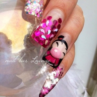 Bubble Yum nail art by Victoria Zegarelli nail bar Lounge