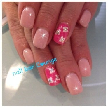 Petal Pusha nail art by Victoria Zegarelli nail bar Lounge