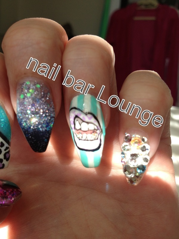 Hey There Fabulous nail art by Victoria Zegarelli nail bar Lounge