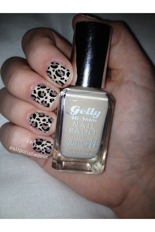 Leopard Print beauties! nail art by allpolishedout