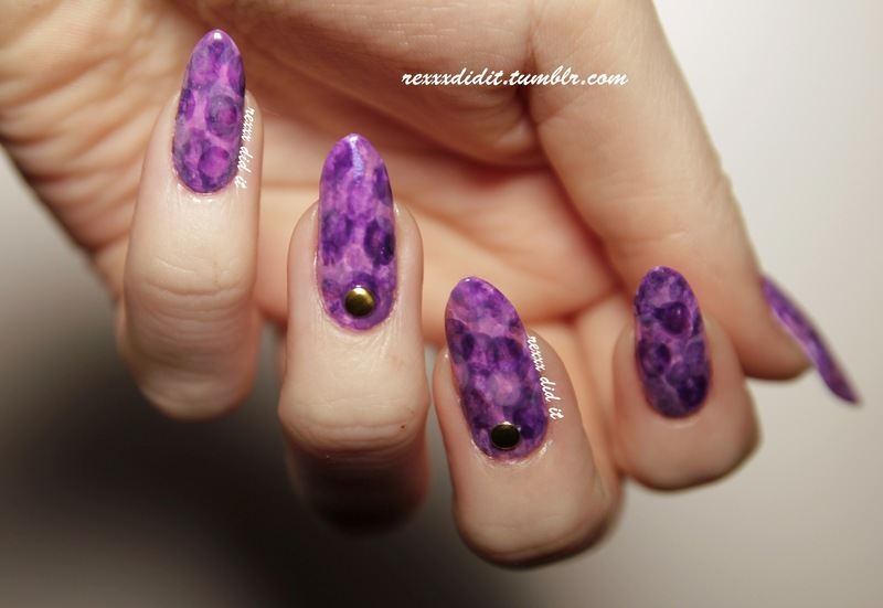 Nimbus Nails nail art by Robin