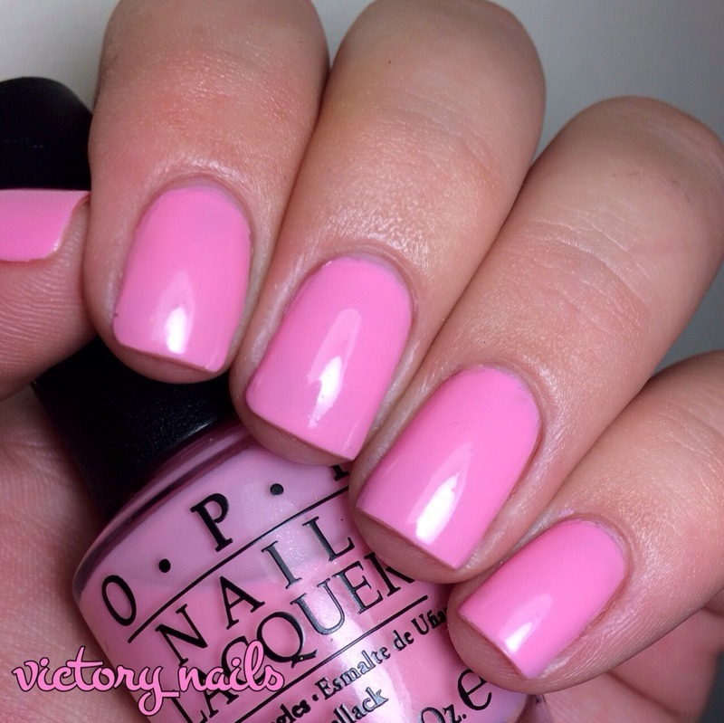 OPI Chic From Ears To Tail Swatch by Nicole
