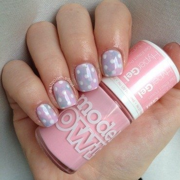 Pretty Pastels nail art by allpolishedout