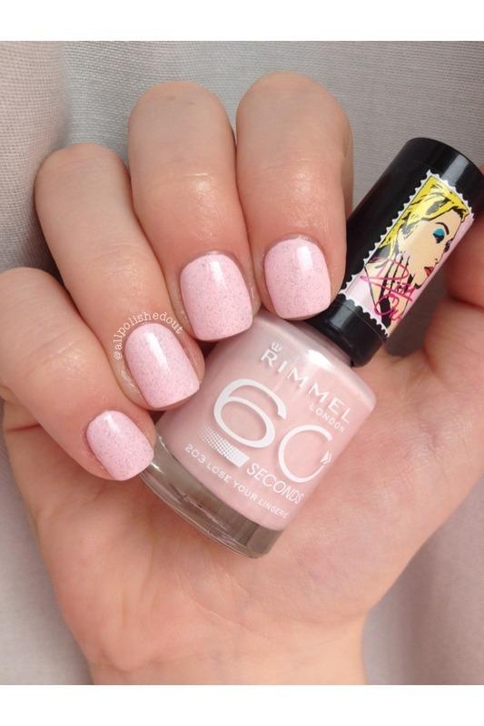 Rita Ora nail art by allpolishedout