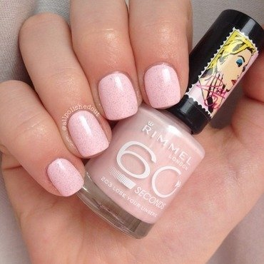 Rita Ora nail art by allpolishedout