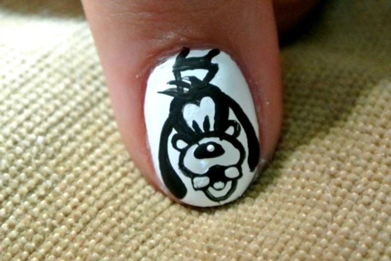 Goofy nail art by practicewithpolish