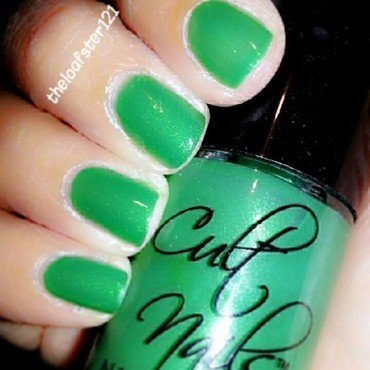 Cult Nails Feelin Froggy Swatch by Evy Rodrigues
