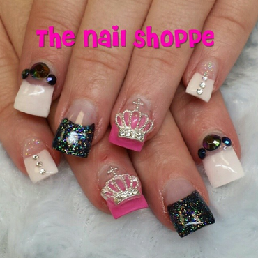 Princess Nails nail art by Dita Von Tawana of The Nail Shoppe