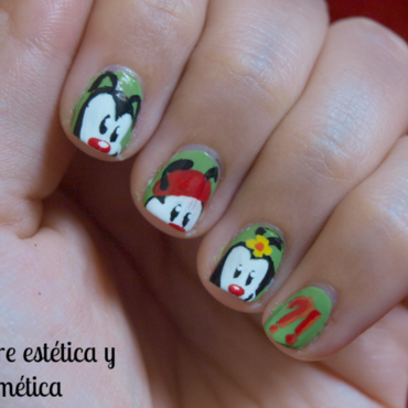 Animaniacs nail art 1 thumb370f