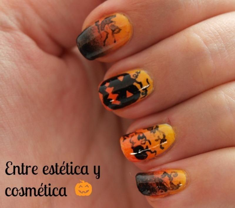 Pumpkins Halloween'13 nail art by MartaRuso