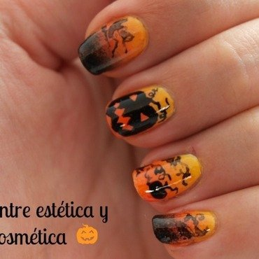 Halloween nails calabazas1 thumb370f