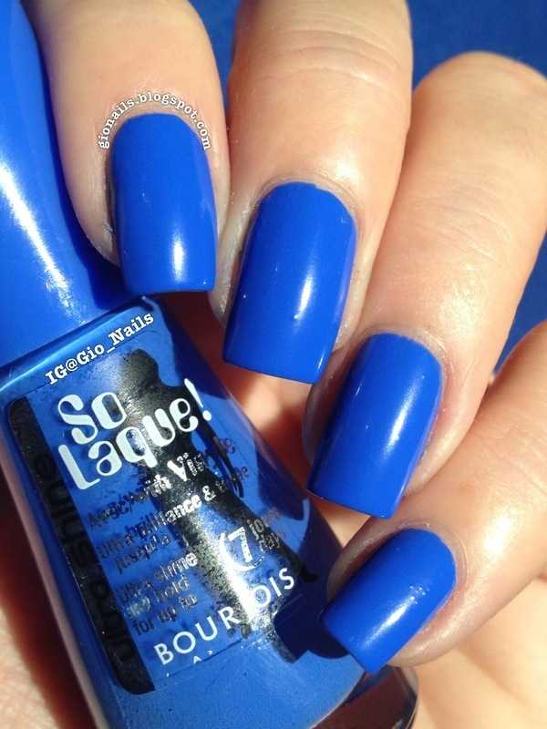 Bleu Fabuleux Bourjois Swatch by Giovanna - GioNails