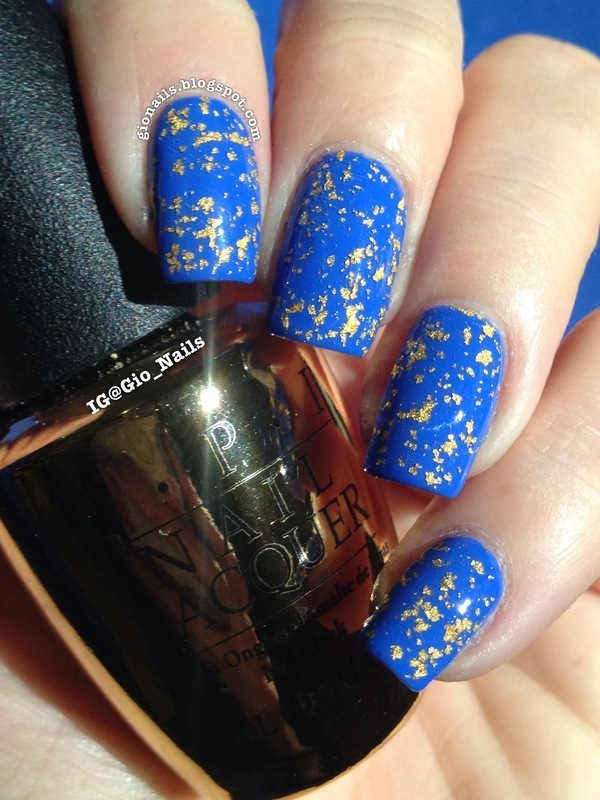 OPI The Man With The Golden Gun Swatch by Giovanna - GioNails
