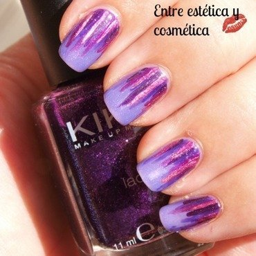 Waterfall purple nail art by MartaRuso