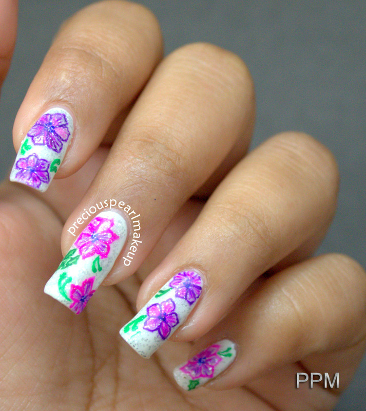 Spring flowers nail art by pearl p nailpolis museum of nail art spring flowers nail art by pearl p mightylinksfo