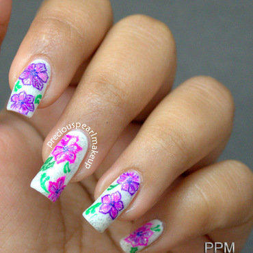 Flower nail art 2 thumb370f