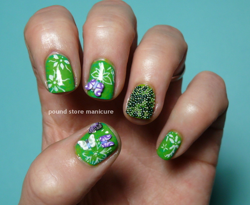 Try Out All The Things! nail art by Pound Store Manicure