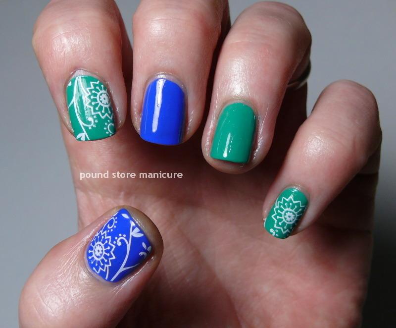 Jess nail art by Pound Store Manicure