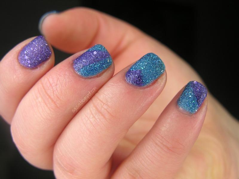 Geometry nail art by Agni