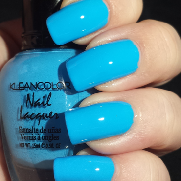 Kleanclolor Beach Blue Swatch by Ashley Hoopes
