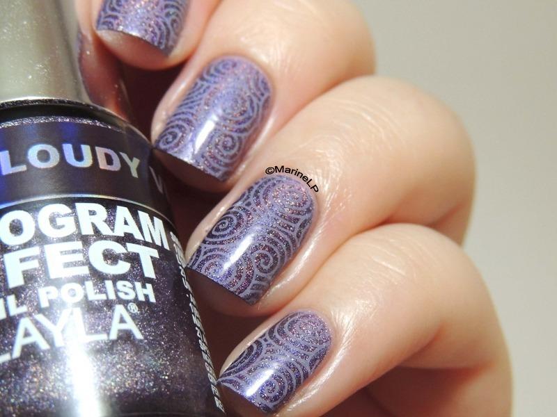 Holobssession nail art by Marine Loves Polish
