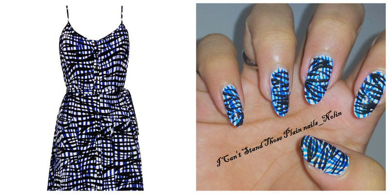 Double Zebra Print nail art by Arnolin Modokh