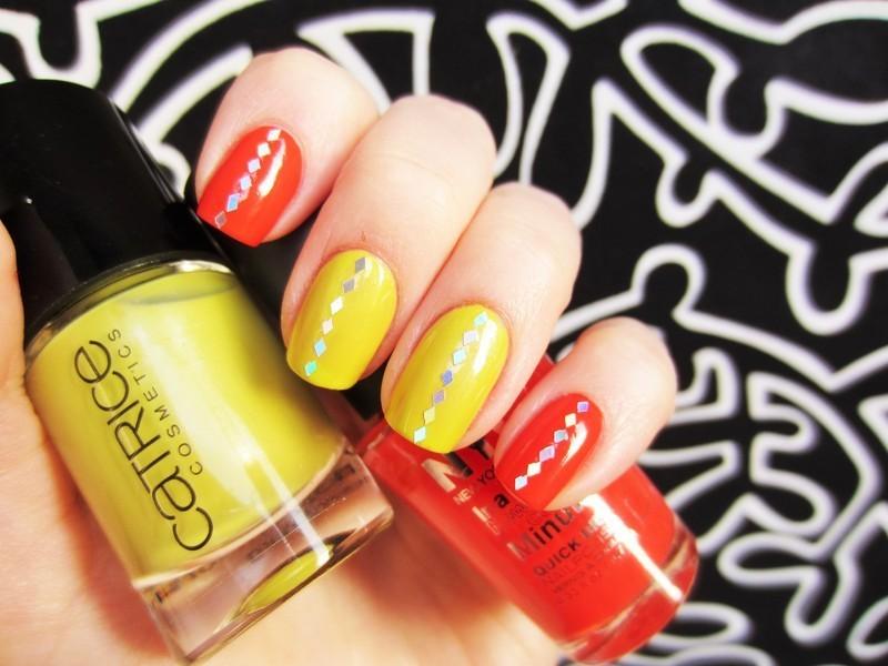 neons nail art by Jane