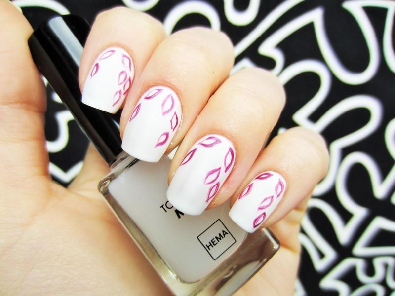 Autumn nail art by Jane
