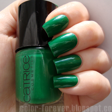 Catrice I'm Not A Greenager Swatch by ania