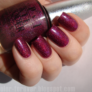 OPI DS Extravagance Swatch by ania