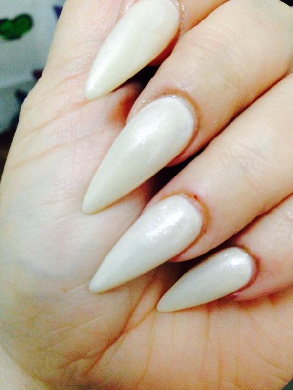 Stilettonails  nail art by mel