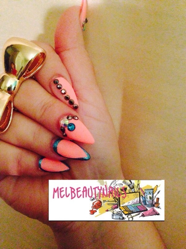 Spring is here nail art by mel