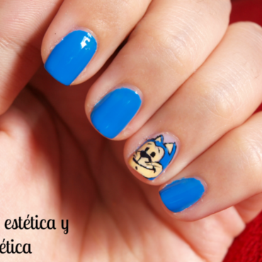 Don Gato - Top Cat  nail art by MartaRuso