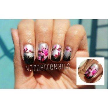 Cherry Blossoms Nail art nail art by Christina