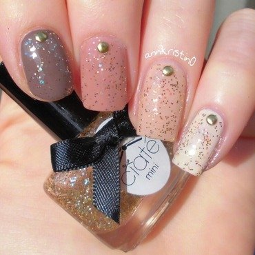 Nude Ombre Nails nail art by Ann-Kristin