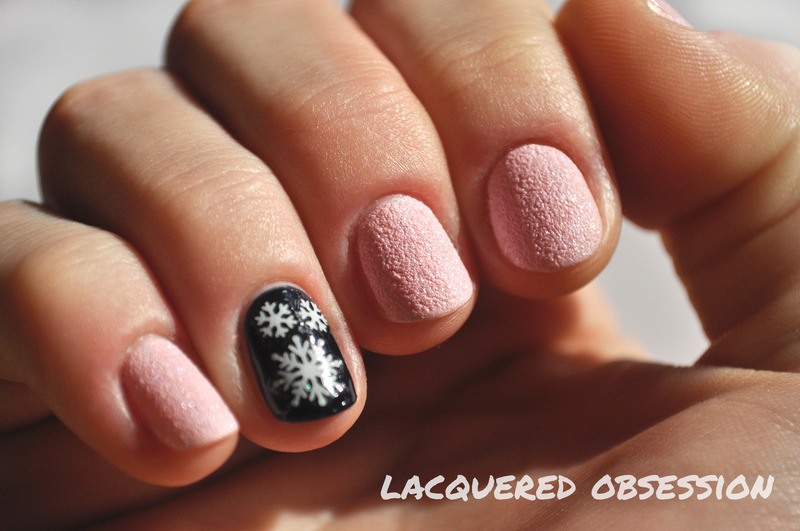 Princess and Midnight Rocker nail art by Lacquered Obsession