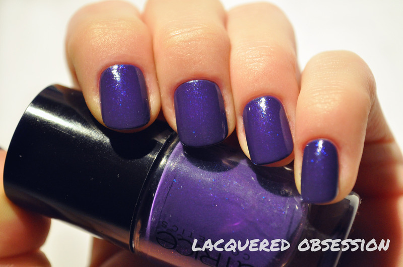 Catrice 14 Purple Reign Swatch by Lacquered Obsession