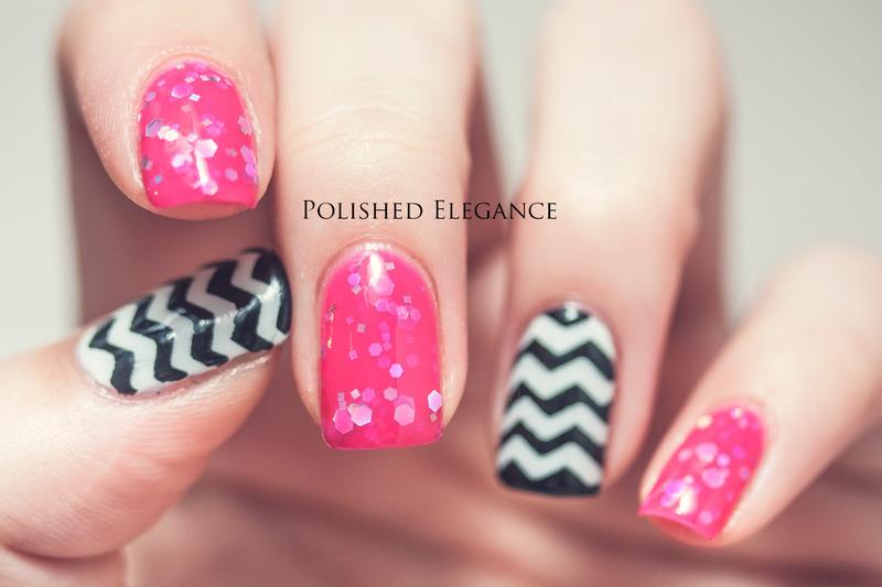 A Girls Best Friend nail art by Lisa