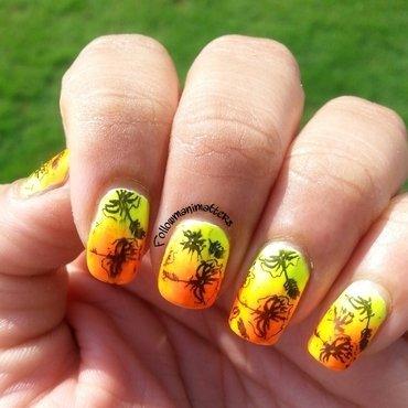 Summer nails nail art by Manisha Manimatters