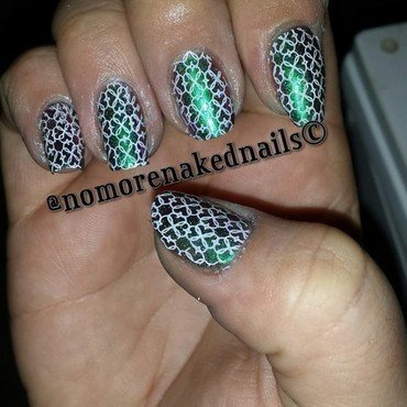 stamping nail art by nomorenakednails