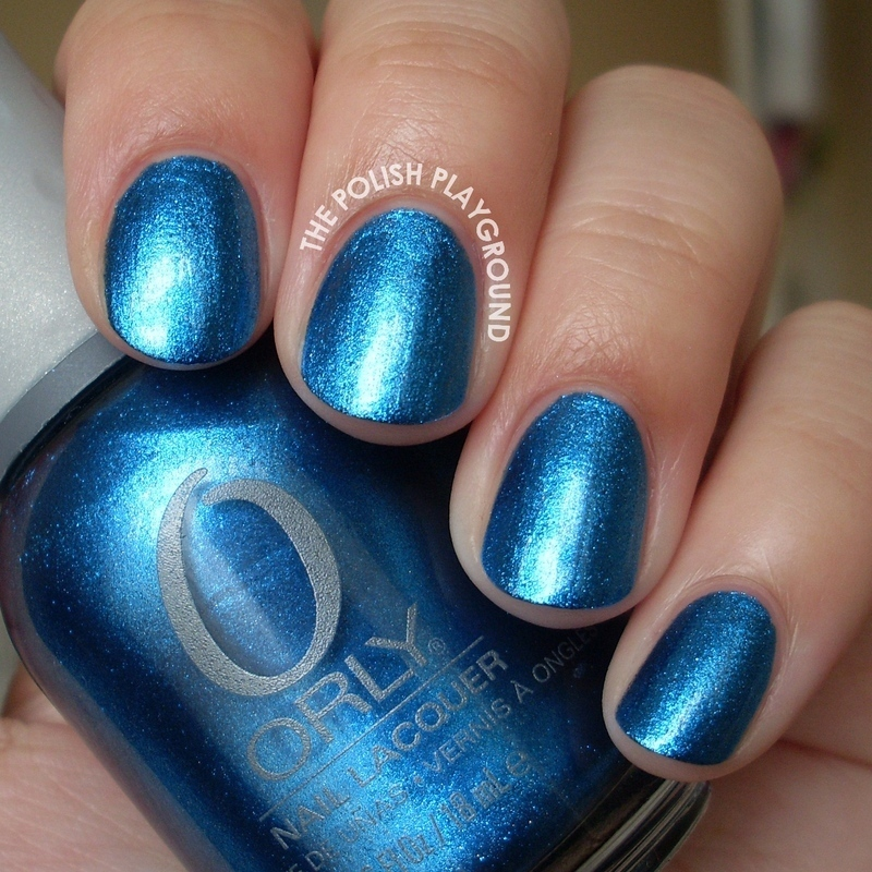Orly Sweet Peacock Swatch by Lisa N