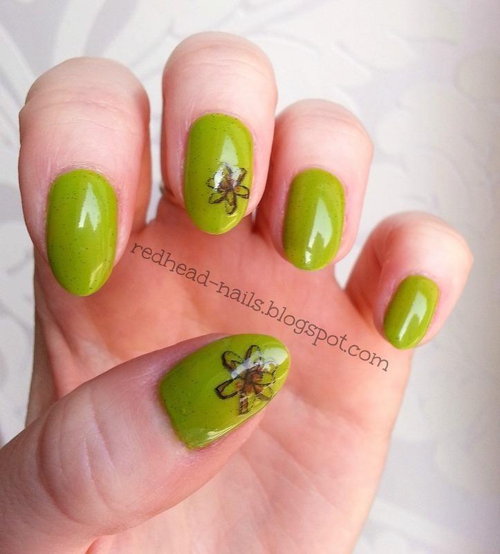 Spring came! nail art by Redhead Nails