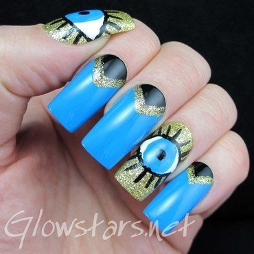 Your voices aren't clear enough after all nail art by Vic 'Glowstars' Pires