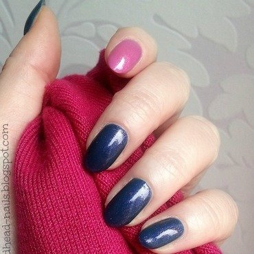 Orly High On Hope and Orly Preamp Swatch by Redhead Nails